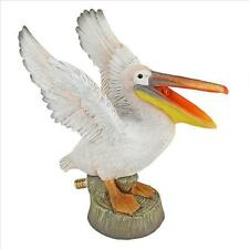 Spitting Pelican Water Spitter Piped Statue Pond Pool Sculpture