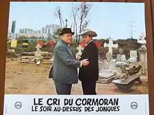 PAUL MEURISSE BERNARD BLIER PHOTO EXPLOITATION LOBBY CARD LE CRI DU CORMORAN....