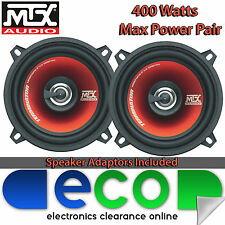 "Subaru Impreza 1993-2007 MTX 5.25"" 400 Watts 2 Way Front Door Car Speakers & Kit"