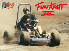 Fun Kart III, offroad, mini dune buggy, sandrail, go kart plans on CD disc