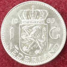 Netherlands 1 Gulden 1965 (C0610)