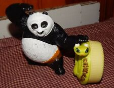KUNG FU PANDA MCDONALDS  TOY FUN FIGURE LOT VIPER SNAKE + PO PANDA GUC