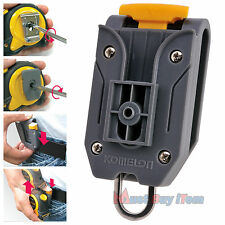 Safety Komelon Tape Measure Holder Belt Clip Waist Engineers Measuring Tool 1pcs