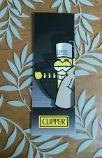 Cool Spy Man Clipper Lighter Sticker Cool Rare Collect them all