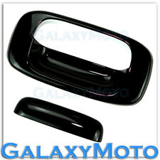 99-06 GMC Sierra 1500+2500+3500 Gloss Black ABS Tailgate Handle Cover