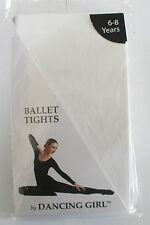 Ballet Strumpfhosen Weiß Größe 3-5 Jahre 116cm