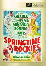 SPRINGTIME IN THE ROCKIES  (1942 Betty Grable)  - Region Free DVD - Sealed