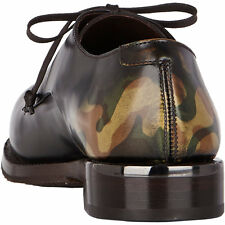 Antonio Maurizi CAMO Oxfords 40.5 EU 7.5 US Brogued Burished STUNNING New
