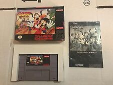 Disney's Goof Troop (Super Nintendo, 1993) Complete CIB SNES