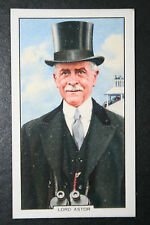 Lord Astor  Racehorse Owner    Original 1930's Vintage Card  VGC