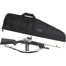 "Tactical 42"" Rifle, Shotgun Protector Case, Black Assault Hunting Ammunition Bag"