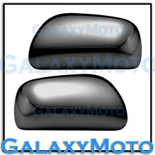 2007-2011 Toyota Yaris Triple Black Chrome plated ABS Mirror Cover Trim Kit