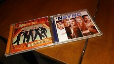 TWO NSYNC CDS NO STRINGS ATTACHED AND NSYNC CDS
