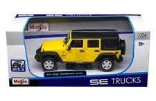 MAISTO 1:24 SPECIAL EDITION TRUCKS 2015 JEEP WRANGLER UNLIMITED DIE-CAST 31268YL