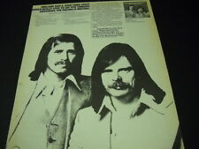 England Dan & John Ford Coley Aug 6 - Sept 7, 1976 Tour Dates Promo Poster Ad
