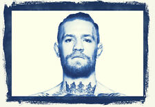 Framed Print - The Notorious Conor Mcgregor UFC Fighter (MMA Picture Poster Art)