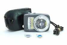 GOSSEN LUNA-PRO LIGHT METER!! 90-DAY WARRANTY!! EXCELLENT CONDITION!!