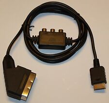 TRUE RGB LUMINANCE SYNC CABLE FOR PLAYSTATION 1 & 2 & 3 SCART VIDEO LEAD CABLE