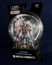 "Mortal Kombat X Previews Exclusive KITANA MOURNFUL VARIANT 6"" Figure Mezco"