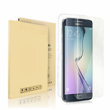 Front+Back Curved Ultra Film Screen Protector for Samsung Galaxy S6 Edge Plus +