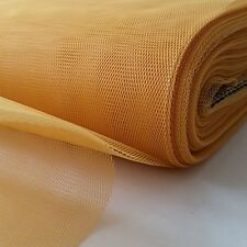2 METRES Of Gold Dress Net Tutu Fabric Tulle Mesh Fairy Material 150 cm Wide