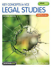 Key Concepts in VCE Legal Studies ~ Units 3 & 4 & eBookPLUS Second edition