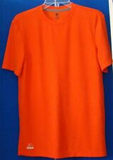NWOT Men STARTER DRI-STAR Short Sleeve ATHLETIC SHIRT Sz S 34-36 Orange w/LOGO