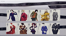 GB 2012 GREAT BRITISH FASHION PRESENTATION PACK No.471