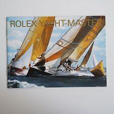 ROLEX BOOKLET YATCH-MASTER 16622 16623 16628   LIBRETTO ITALIANO anno 2005