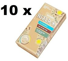 10 Rizla NATURA ULTRA SLIM 5.7mm filter tips ,brown color (1200 Filter tips)