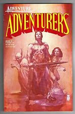 ADVENTURES BOOK II LIMITED EDITION #1 - KENT BURLES ART - LAIN McCAIG COVER