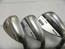 New 2016 Mizuno MP-T5 White Satin 50* 54* 58* Wedge Set 50.07 54.08 58.08 LB
