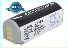3.5V battery for Canon PowerShot ELPH 530 HS, IXY50S, IXY 51S, SD4500IS Li-ion