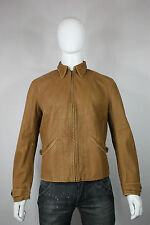 Levis LVC Menlo leather jacket M new vintage clothing brown 30's