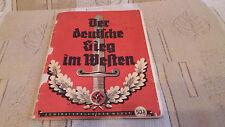 Der Deutsche Sieg im Westen 1940 Original /Der Adler/