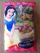 Disney Princess Snow White The Sweetest One of All Storybook Plush Pillow 2009