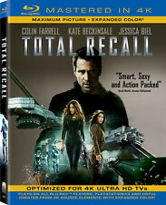 Total Recall [Includes Digital Copy (Blu-ray Used Very Good) BLU-RAY/4K-Mastered