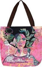 Renewed African American Ebony Art Tapestry Tote Bag