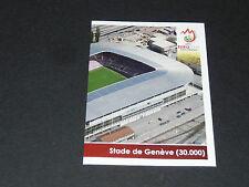 N°43 STADE GENEVE P2 SUISSE SCHWEIZ PANINI FOOTBALL UEFA EURO 2008
