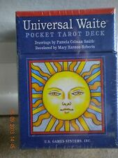 UNIVERSAL WAITE POCKET BOX TAROT DECK CARDS BOOKLET New INSPIRATION ORACLE