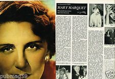 Coupure de Presse Clipping 1979 (4 pages) Mary Marquet