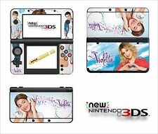 SKIN STICKER AUTOCOLLANT - NINTENDO NEW 3DS - REF 189 VIOLETTA
