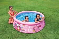 "Intex 6'x20"" Easy Set Pool Hello Kitty Above Ground Swimming Pool"