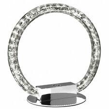 Lámpara de mesa con Regulador LED Efecto luz decorativa anillo