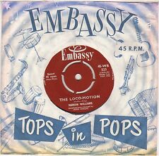 "MARION WILLIAMS ""THE LOCO-MOTION"" POP ROCK 60'S SP  EMBASSY 523"