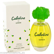 CABOTINE DES GRES 100ml EDP SPRAY BY PARFUMS GRES ------------------ NEW PERFUME