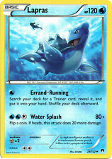 x4 Lapras - 28/122 - Uncommon Pokemon XY Breakpoint M/NM English