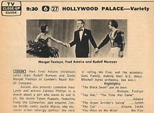 1965 TV AD~MARGOT FONTEYN~RUDOLPH NUREYEV~LONDON'S ROYAL BALET COMPANY