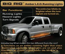 "RECON 48"" BIG RIG AMBER RUNNING LED LIGHTS BAR - UNIVERSAL B"