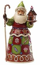 Shore Heartwood Sweetest Santa Father Christmas Figurine Ornament 25.5cm 4034359